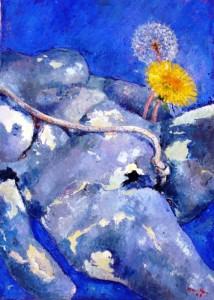 Maleri af Hanne Hansen.