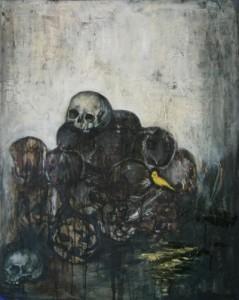 Maleri af Lisbet Winther.