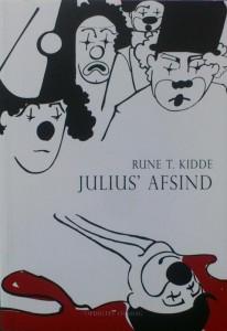 Julius' Afsind. Omslag af April Lauring.